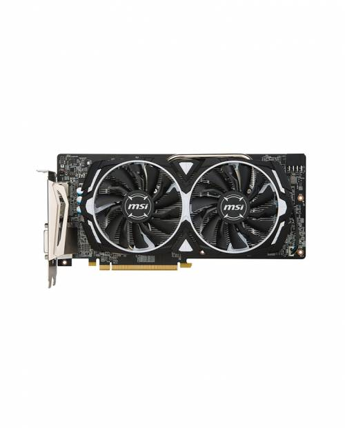 Image result for MSI Radeon RX 580 Armor OC 8GB VR Ready FinFET DirectX 12 Gaming Graphics Card