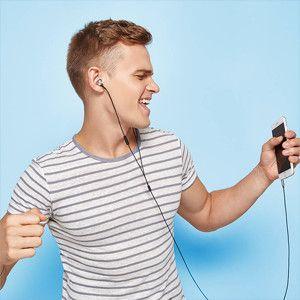 Enjoy high quality sound