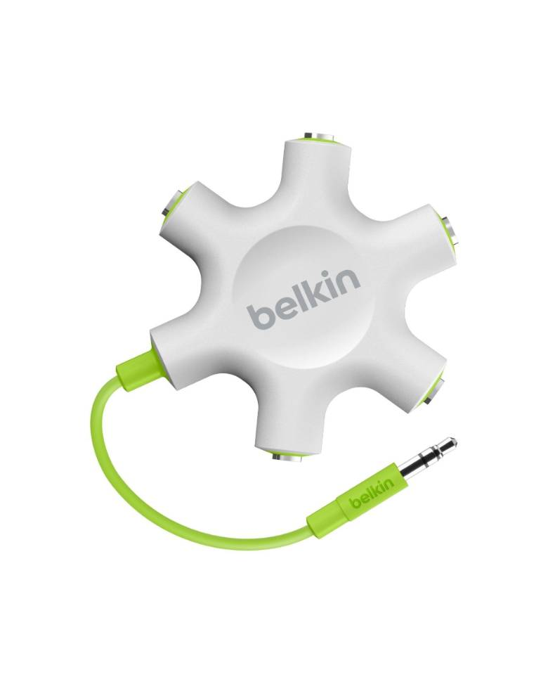 Belkin Rockstar 5-Way 3.5-mm Headphone Splitter zoom image