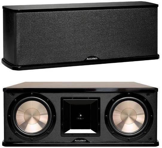 BIC America Acoustech PL 28II 225W 3-Way Slim 8″ Center Channel Speaker zoom image
