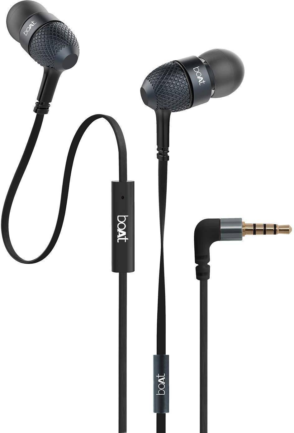 boAt BassHeads 220 super bass earphones zoom image