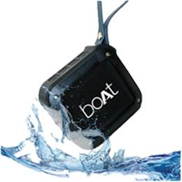 IPX5 Certified Water Proof technology