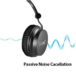 It features passive noise cancelling feature that lets enjoy only pure music