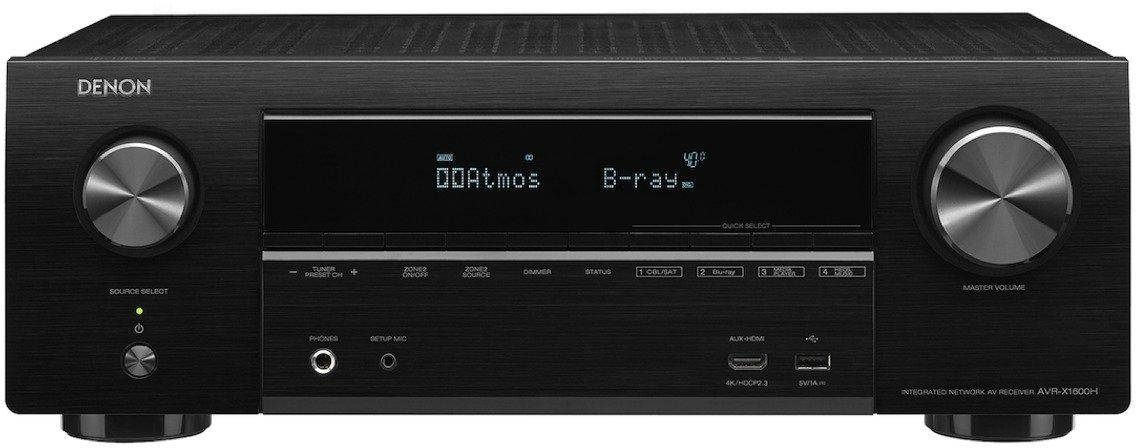 Denon AVR-X1600H 7.2 Channel AV Receiver with Amazon Alexa Voice Control Compatibility zoom image