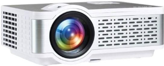 Egate i9 Real HD LED Projector 720p (1080p Support) 2400 Lumens with 150 inch Large Display zoom image