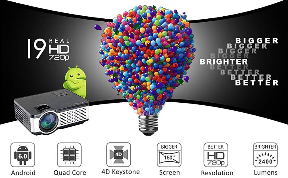 egate i9 android hd projector