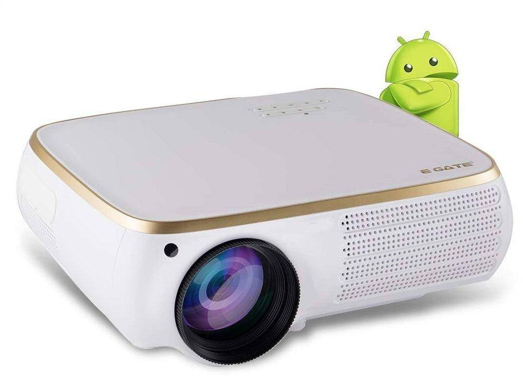 Egate P531 Android Full HD LED Projector (1280 x 1080) 4500 Lumens with 240 Inch Large Display zoom image