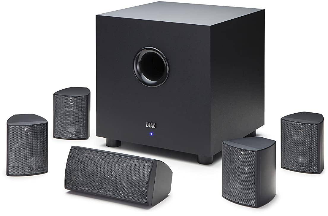 Elac Cinema 5 460W RMS 5.1 Channel Home Theatre Speaker System zoom image