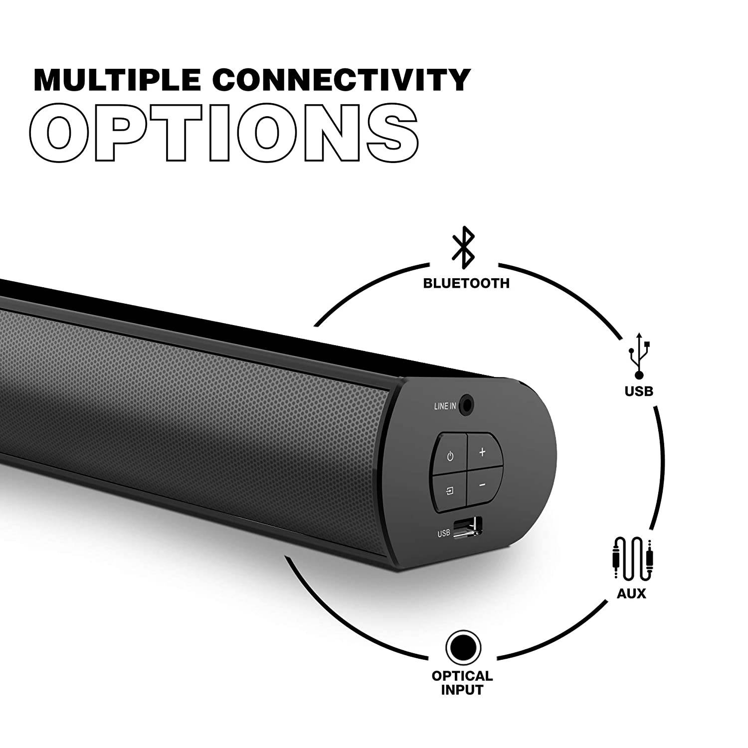 Easy to connect with Multiple Connectivity