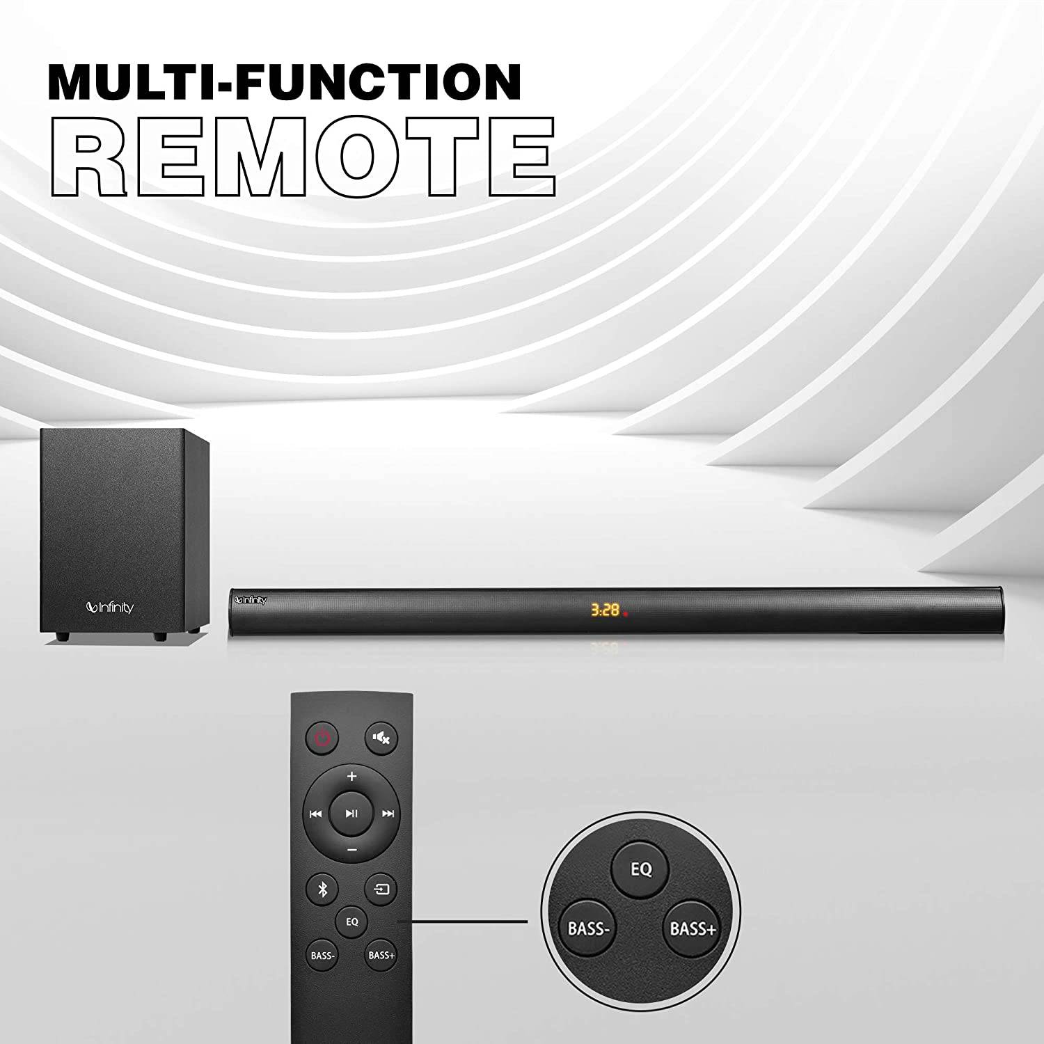 A Remote with multiple functions