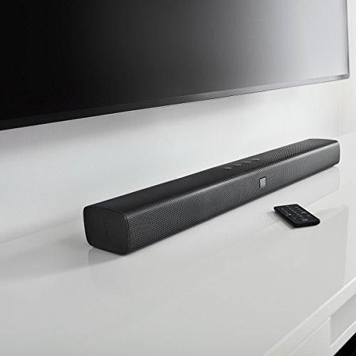 All-in-one Sound bar with built-in Dual Bass Port design