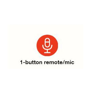 one button remote and mic