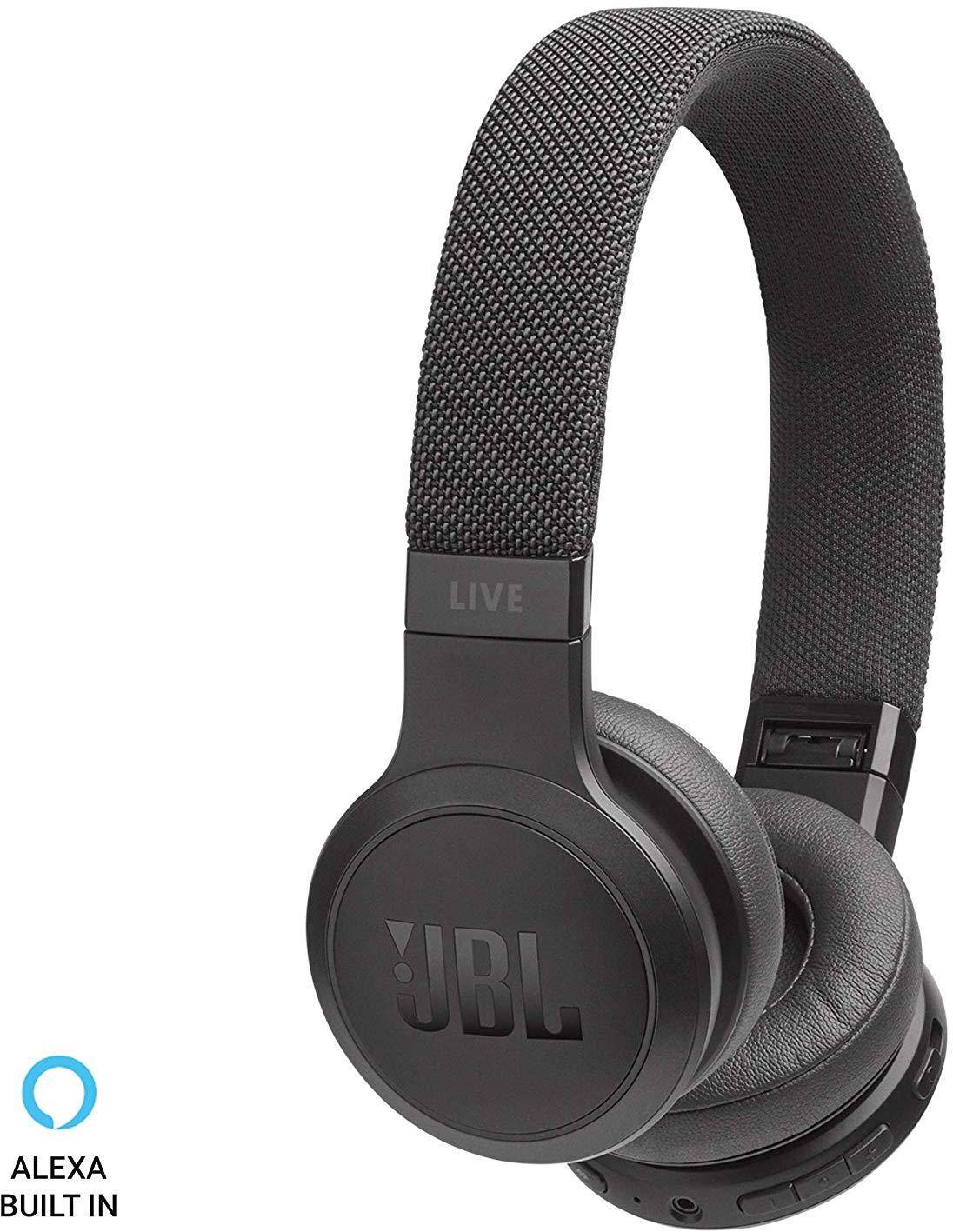 JBL Live 400BT Wireless Bluetooth On-Ear Voice Enabled Headphones With Alexa zoom image