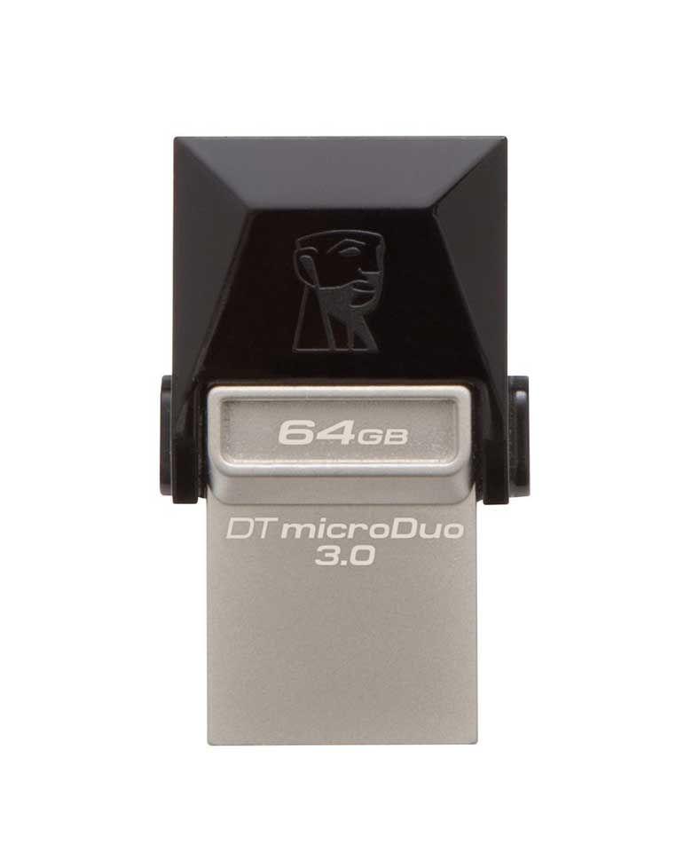 Kingston DT MicroDuo 64GB USB 3.0 OTG Pen Drive zoom image