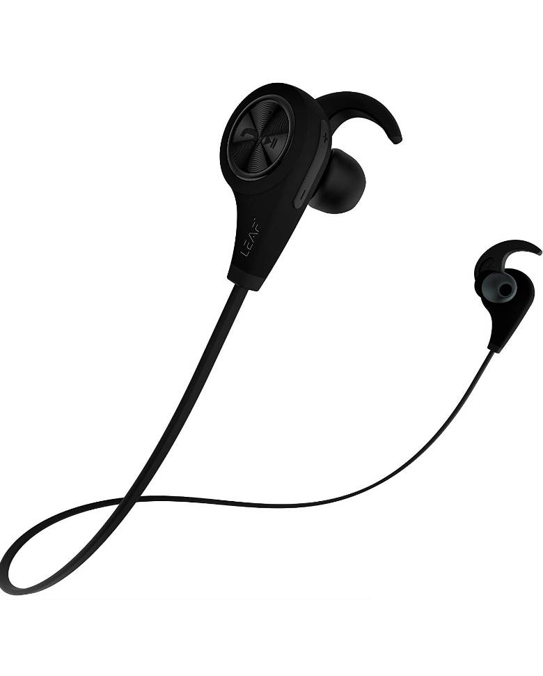 Leaf Ear Bluetooth Earphones with Mic and Deep Bass zoom image