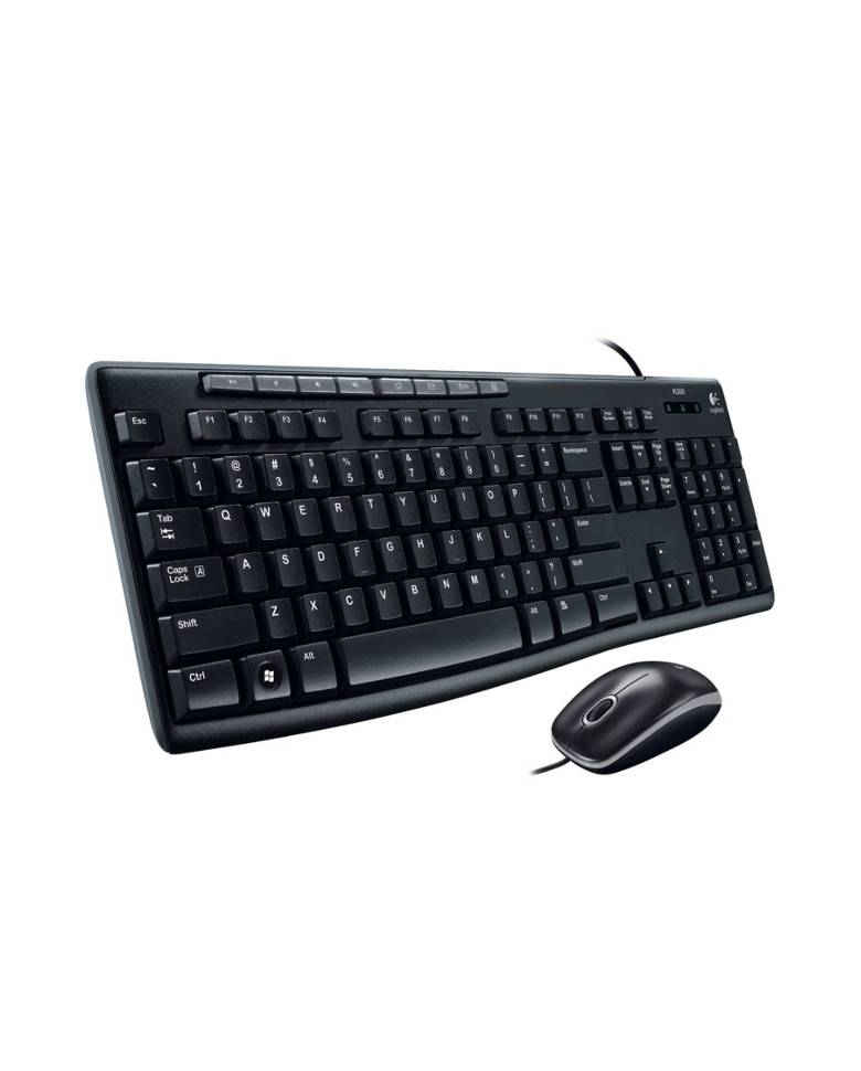 buy logitech mk200 media wired keyboard and mouse combo online at best price in india vplak. Black Bedroom Furniture Sets. Home Design Ideas