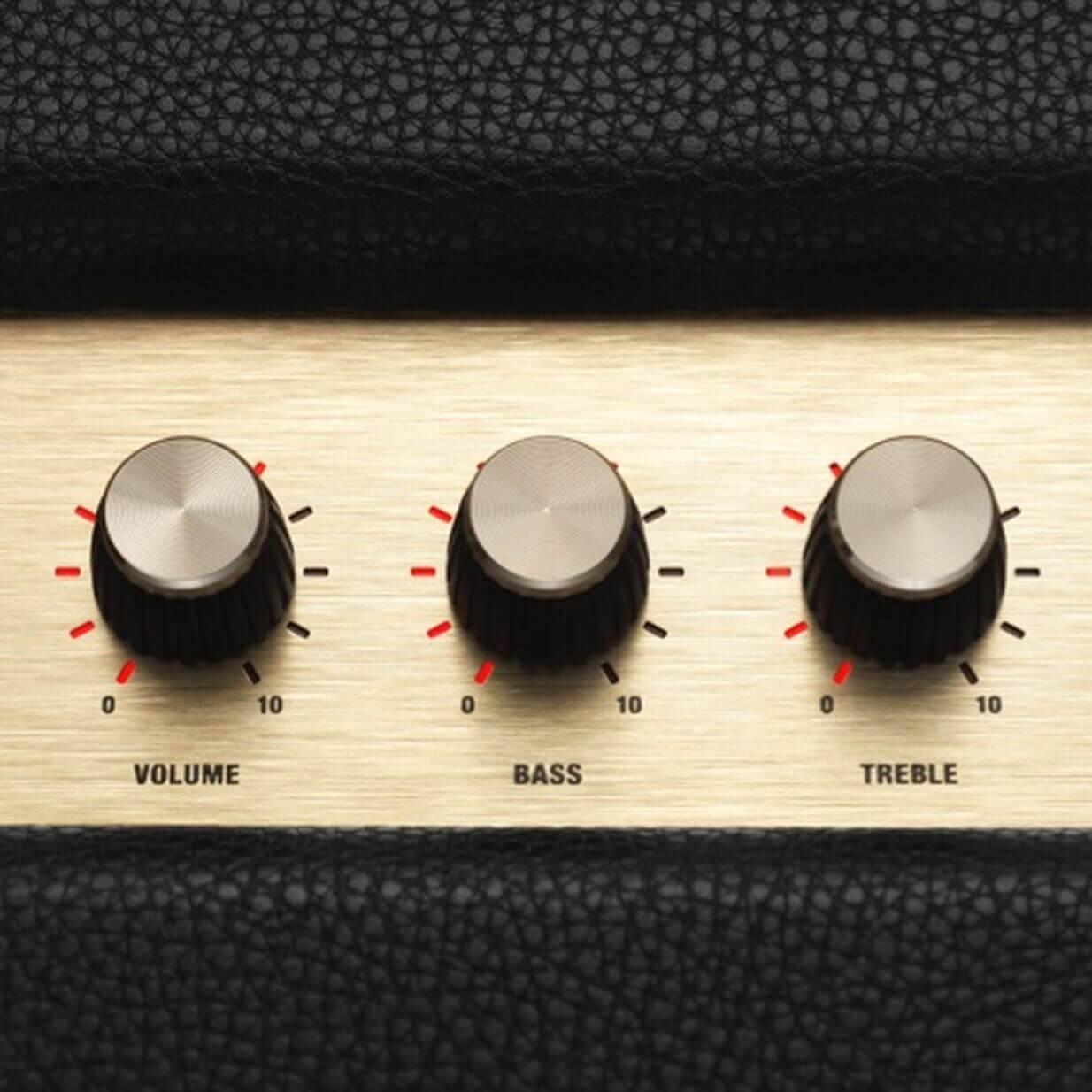 Bass & treble controls