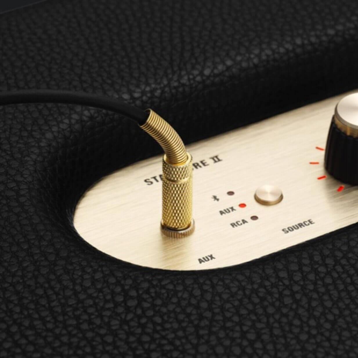 3.5mm jack & RCA input
