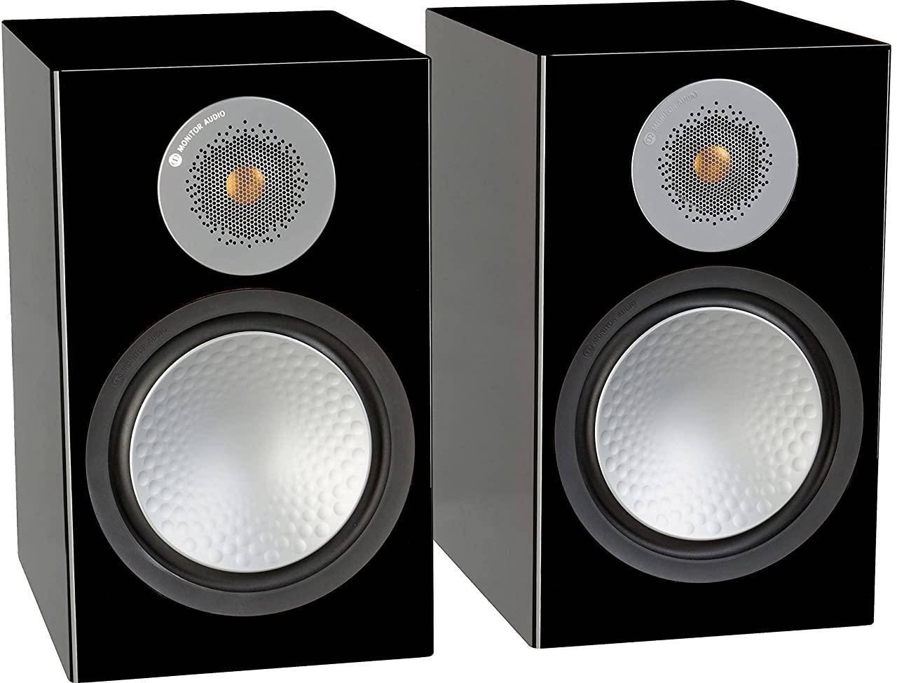 Monitor Audio Silver 100 Bookshelf Speakers Pair zoom image