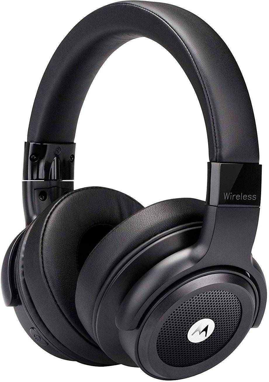 Motorola Escape 800 ANC Wireless Active Noise Cancelling Headphones (Black) zoom image