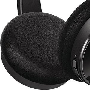 Soft ear cushions provides greater comfort for long listening hours