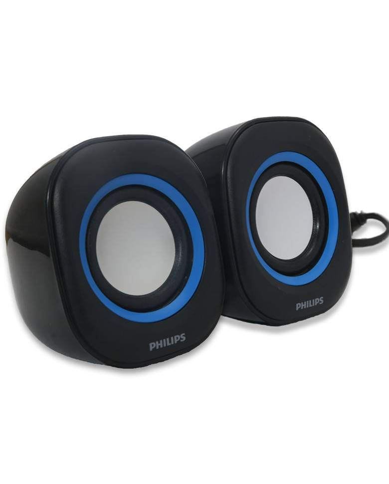 Philips Spa35 2.0 Usb Speaker Usb Plug zoom image