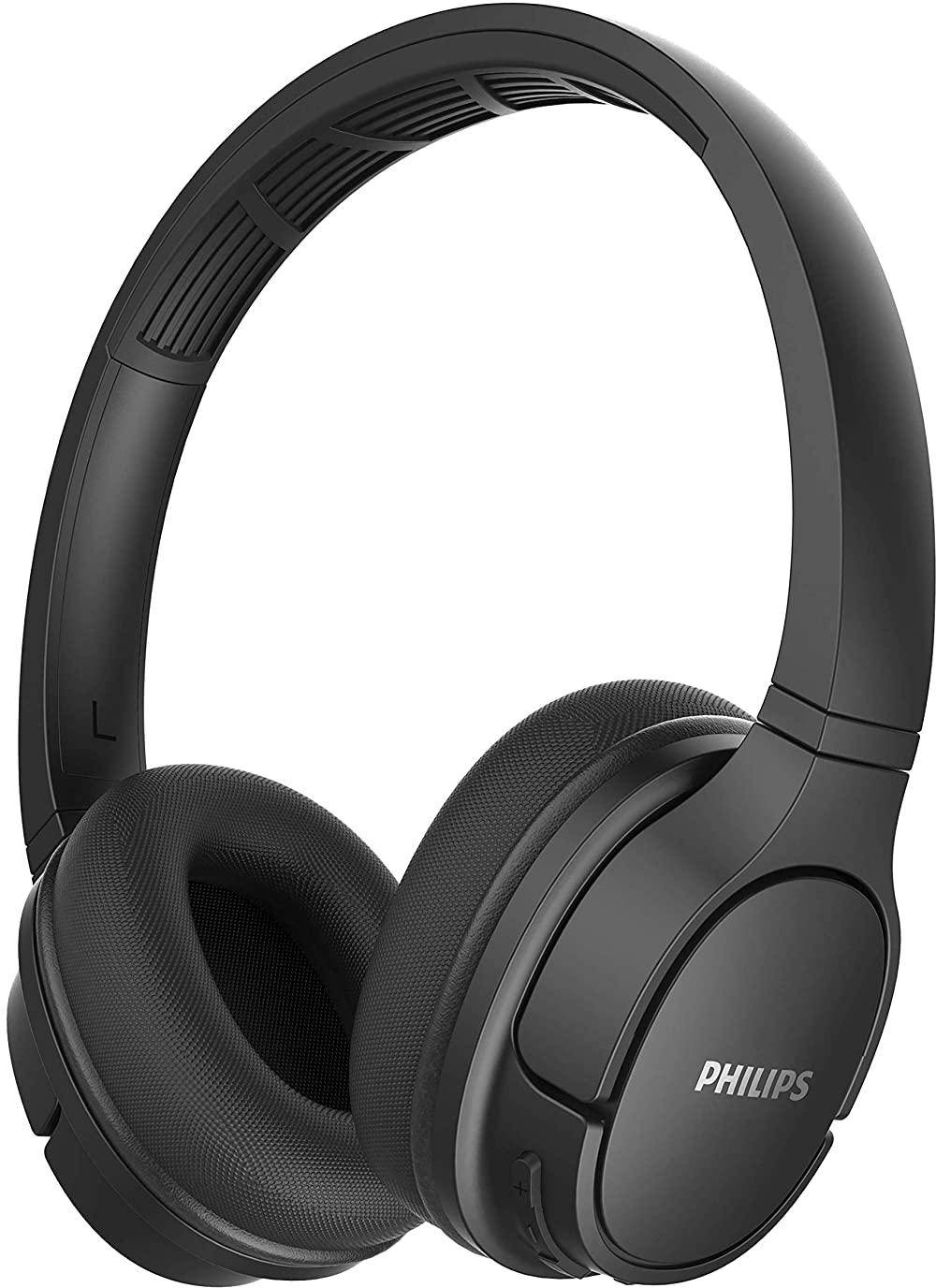 Philips TASH402BK Wireless Headphones Built-in Mic with Echo Cancellation zoom image