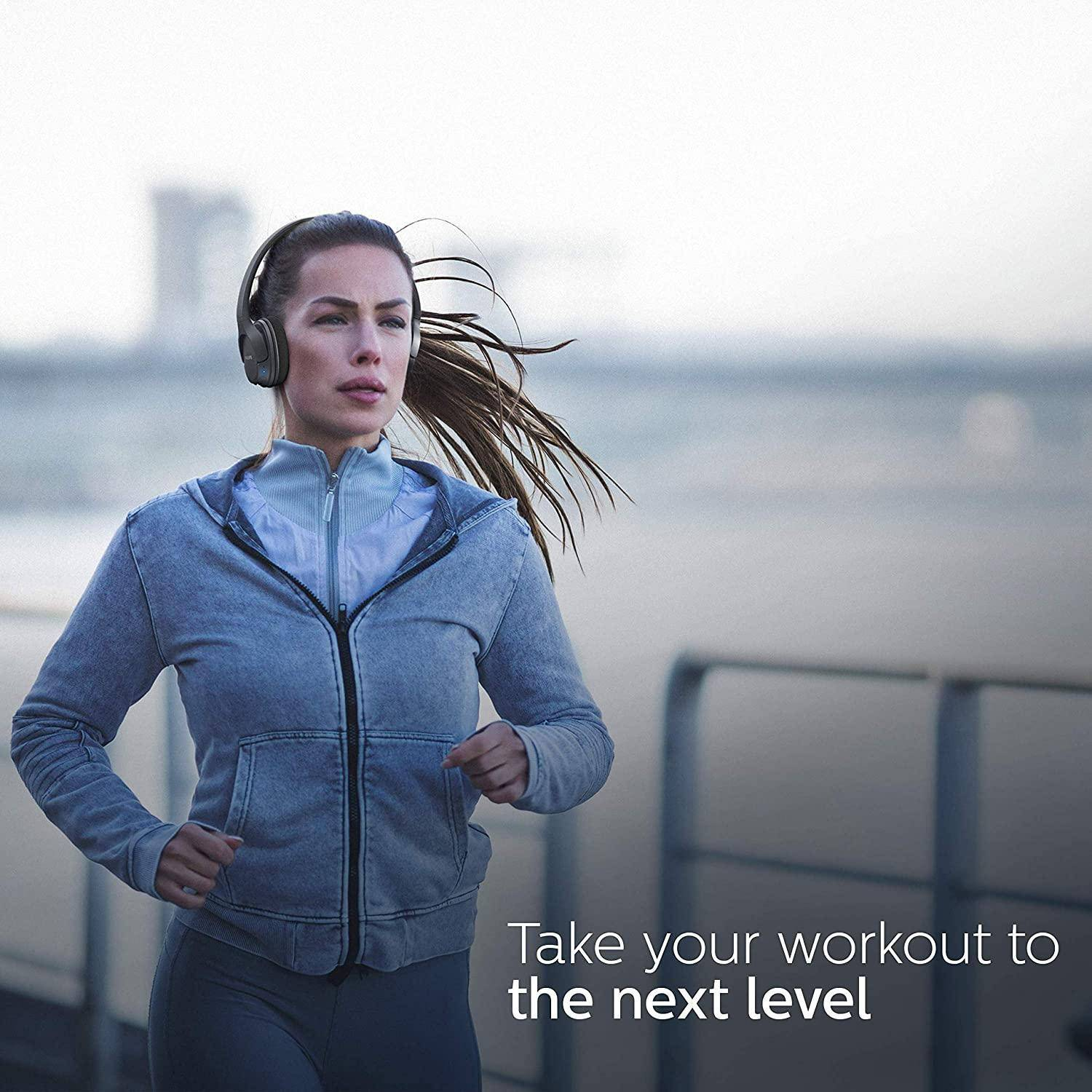Sweat some more, IPX4 is there to protect this headphone