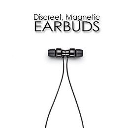 Magentic Earbuds for easy connectivity