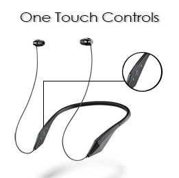 One touch control button for call and music