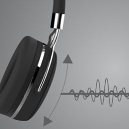 Enhanced bass response for great audio quality