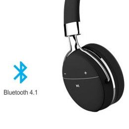 Option of connecting via Bluetooth or AUX cable