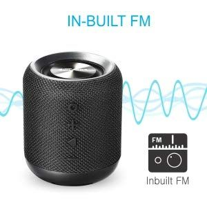 Tune your music with in-built FM