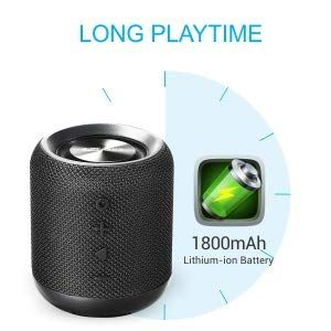 Long lasting rechargeable battery with 7hrs of playtime