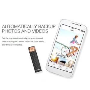 Automatically backup photos and videos with sandisk connect app