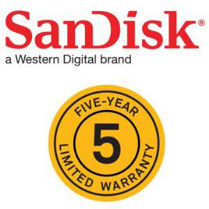 5 years warranty for hassle free use