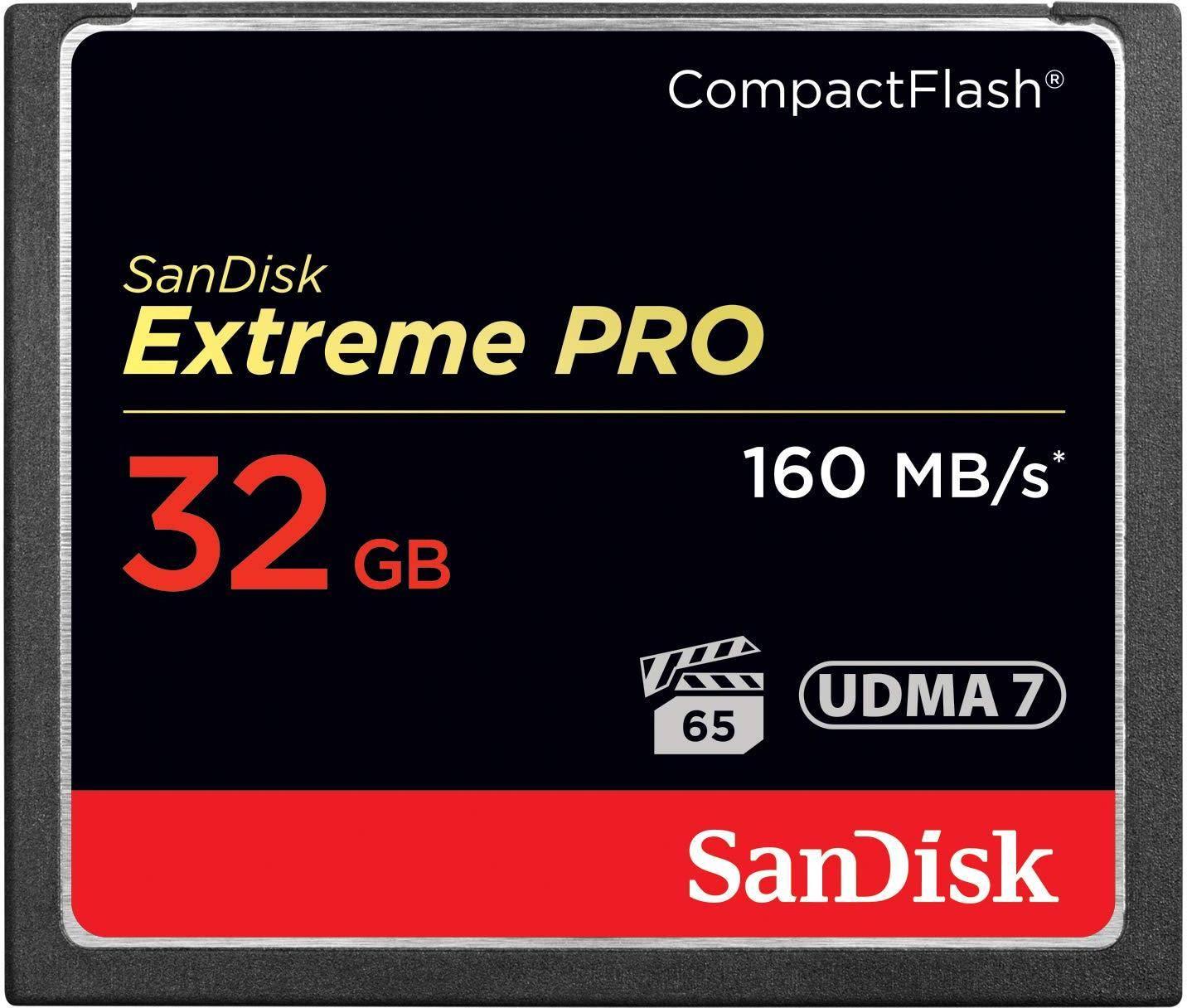 SanDisk Extreme Pro 32GB CompactFlash Memory Card  zoom image