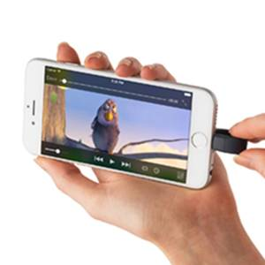 Watch movies and videos by plugging the pen drive