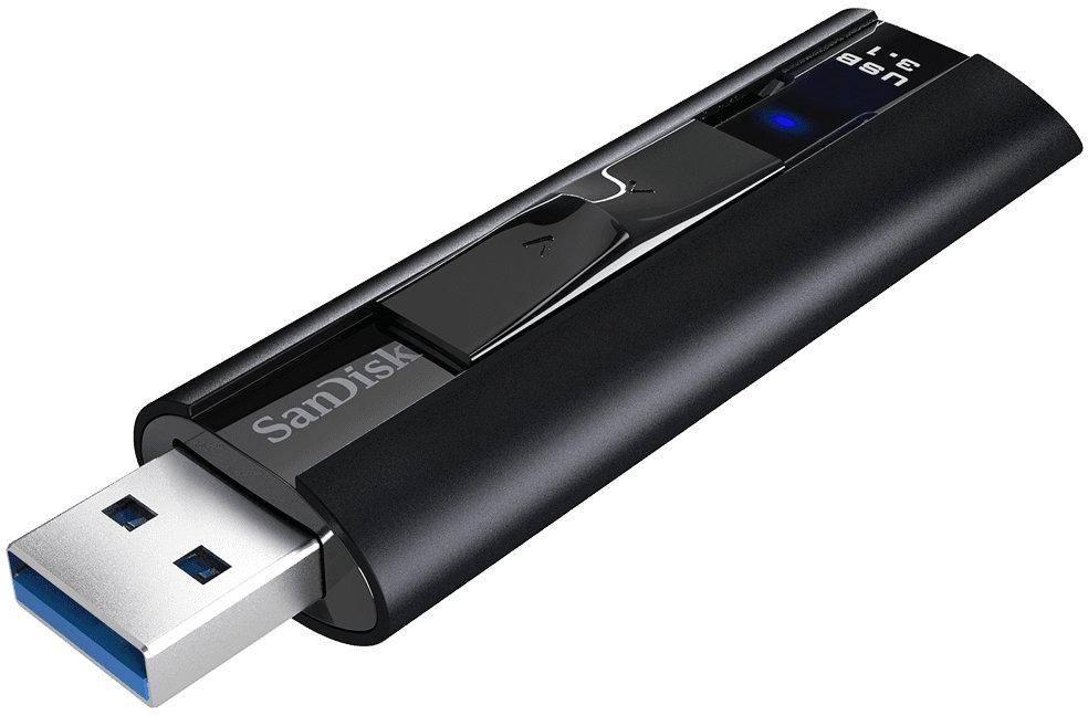 SanDisk Extreme Pro 256GB USB 3.1 Flash Drive (SDCZ880-256G-G46) zoom image