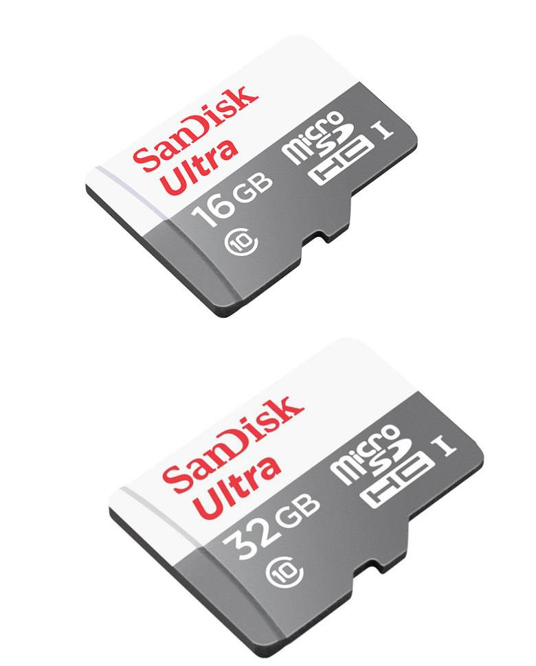 Buy Sandisk 16GB 32GB Ultra MicroSD Class 10 Memory Cards Combo