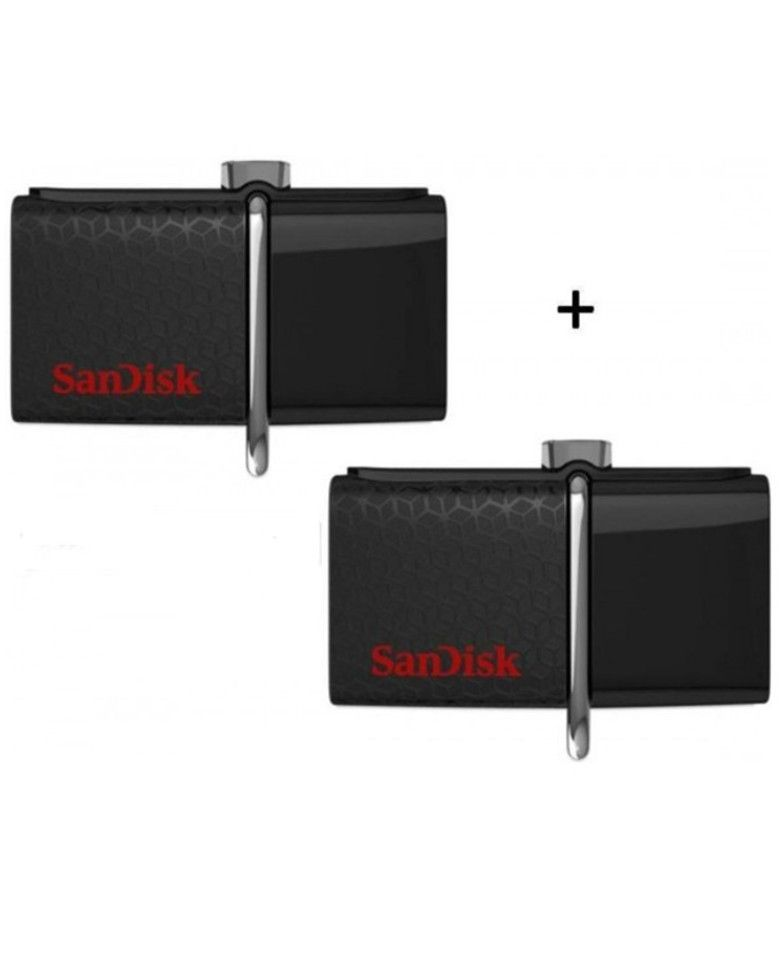 Sandisk Ultra Dual Otg 16GB USB 3.0 Pen Drive / Flash Drive (Combo of 2 Pcs) zoom image