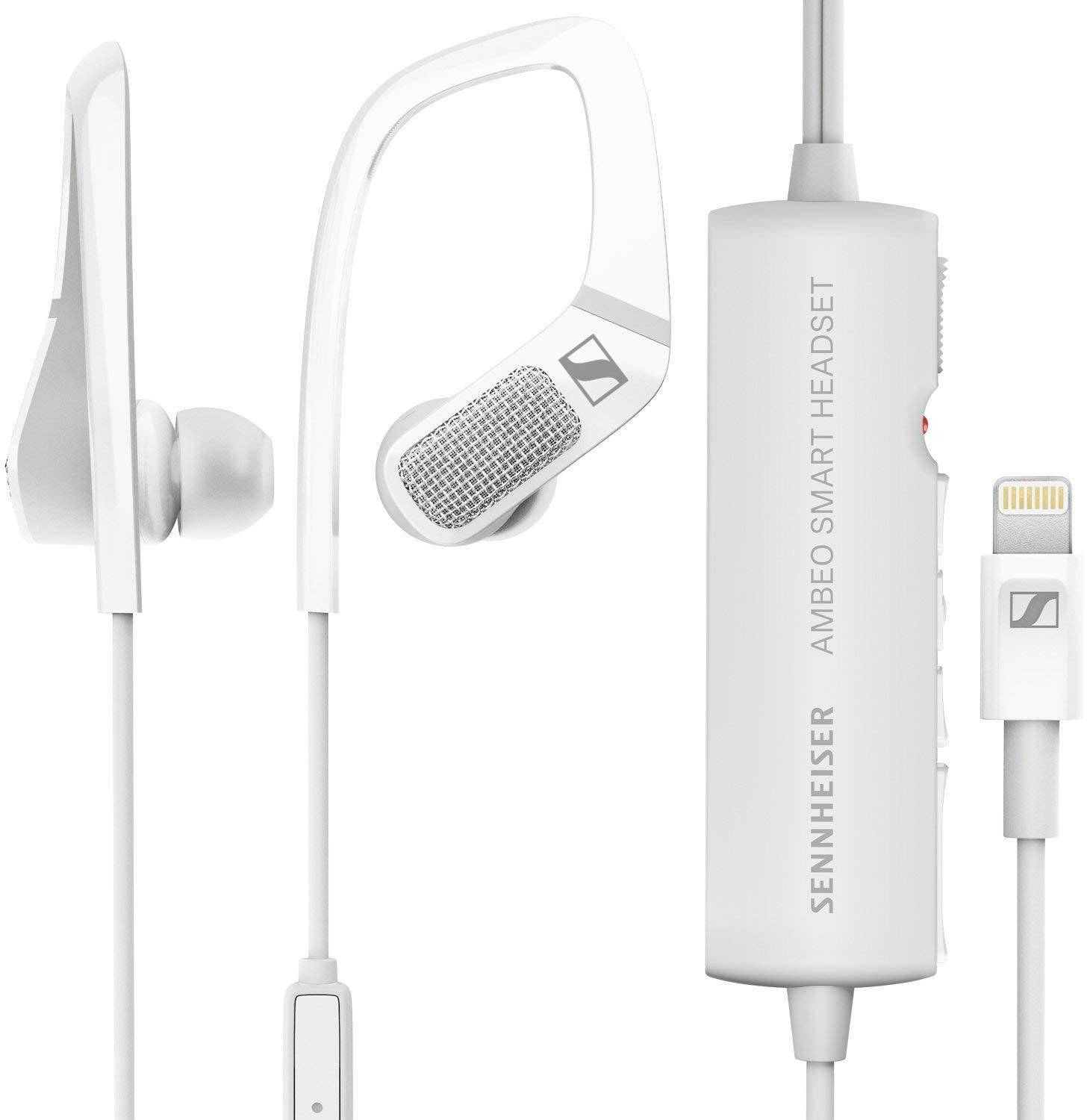 Sennheiser Ambeo Smart Headset with 3D Sound Recording and Active Noise Cancellation zoom image
