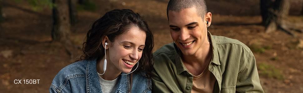 sennheiser CX-150BT neckband earphone