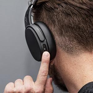 in-built earphones