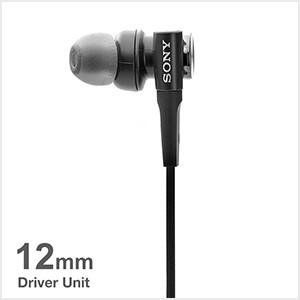 12 mm drivers produce powerful and dynamic sound