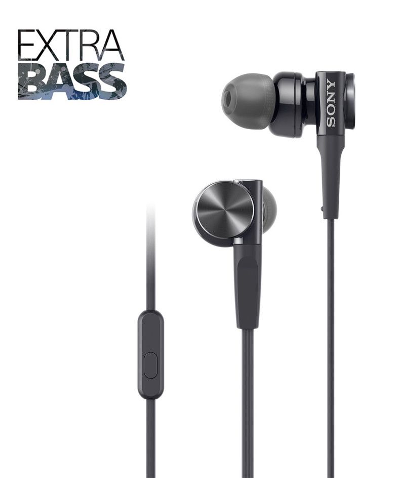 Sony MDR-XB75AP Premium In Ear Extra Bass Headphones With Mic zoom image