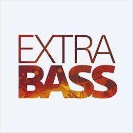 Extra bass technology produces deep rich bass