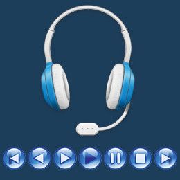 Smart key application to control functions of the earphone