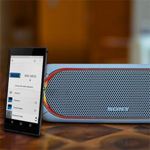 Sony | Music center gives the freedom to control the speaker for your smartphone