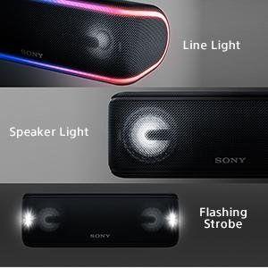 Sony XB41 flashing lights